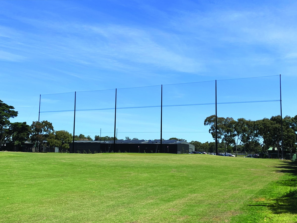 Royal Melbourne Golf Club - Netex Netting