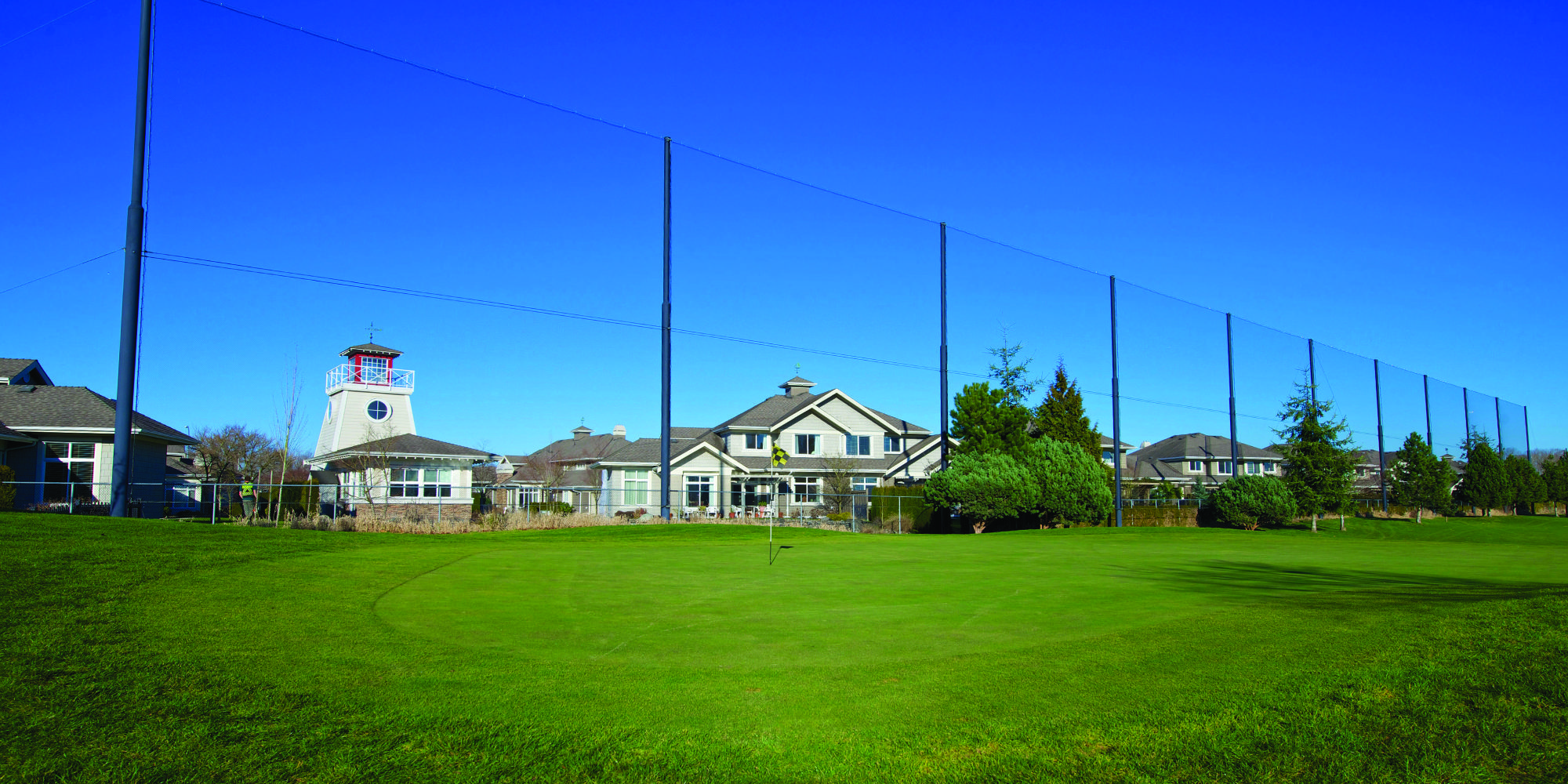Netex Golf Netting Installation